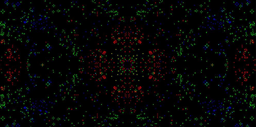 Life on Gaussian primes